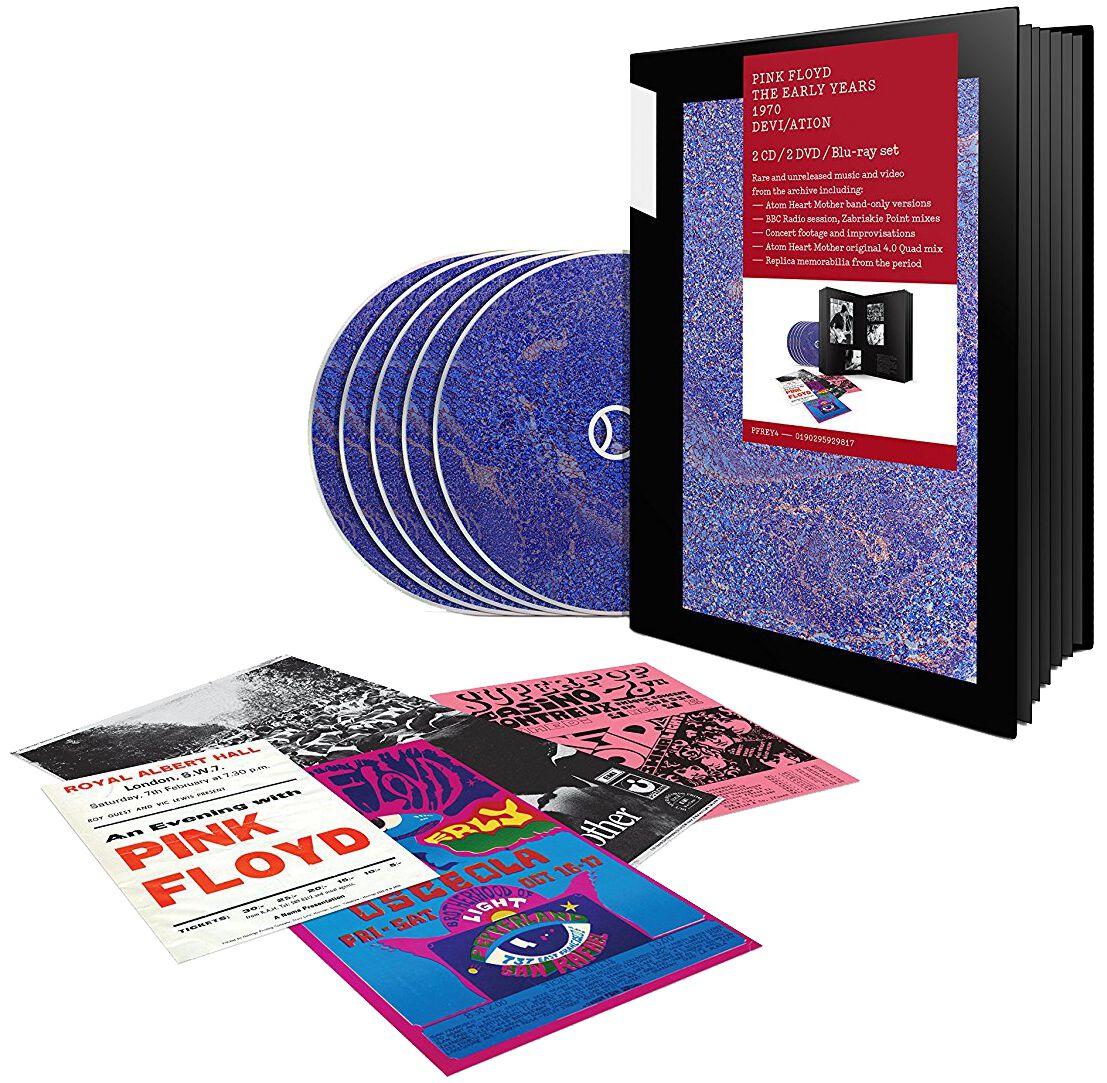 Image of   Pink Floyd 1970 Devi/Ation 2-CD & 2-DVD & Blu-ray standard