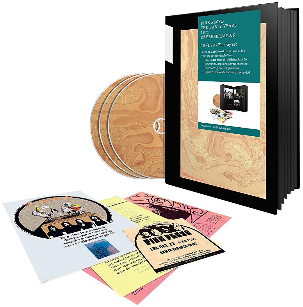 Image of   Pink Floyd 1971 Reverber/Ation CD & DVD & Blu-ray standard