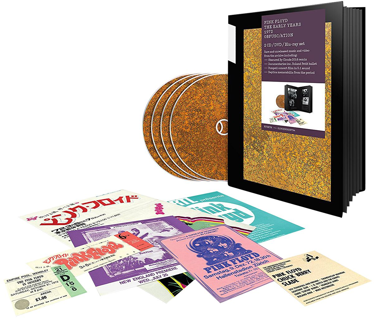 Image of   Pink Floyd 1972 Obfusc/Ation 2-CD & DVD & Blu-ray standard