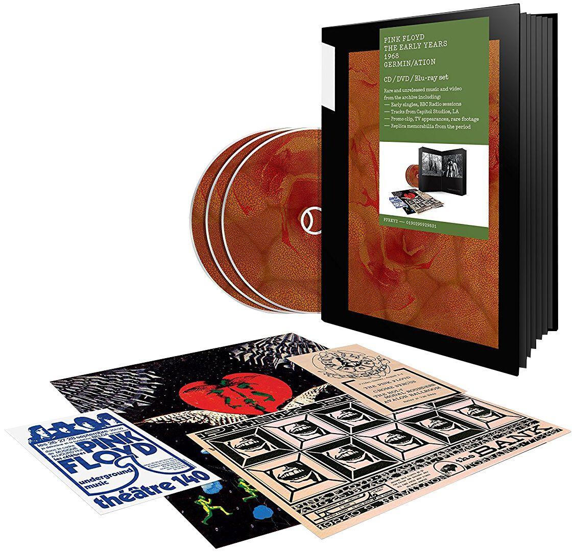 Image of   Pink Floyd 1968 Germin/Ation CD & DVD & Blu-ray standard