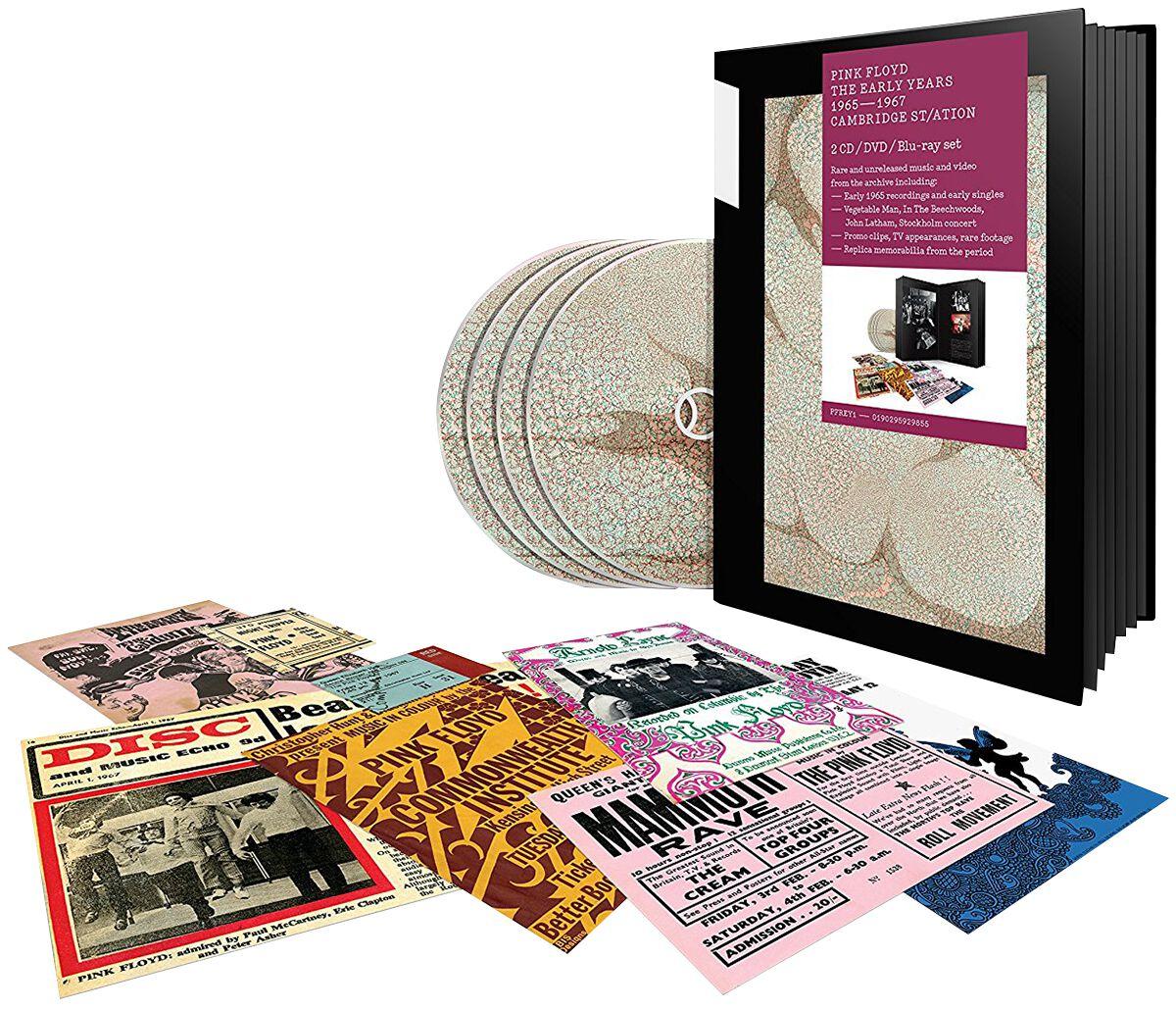 Image of   Pink Floyd 1965 - 1967 Cambridge ST/Ation 2-CD & DVD & Blu-ray standard