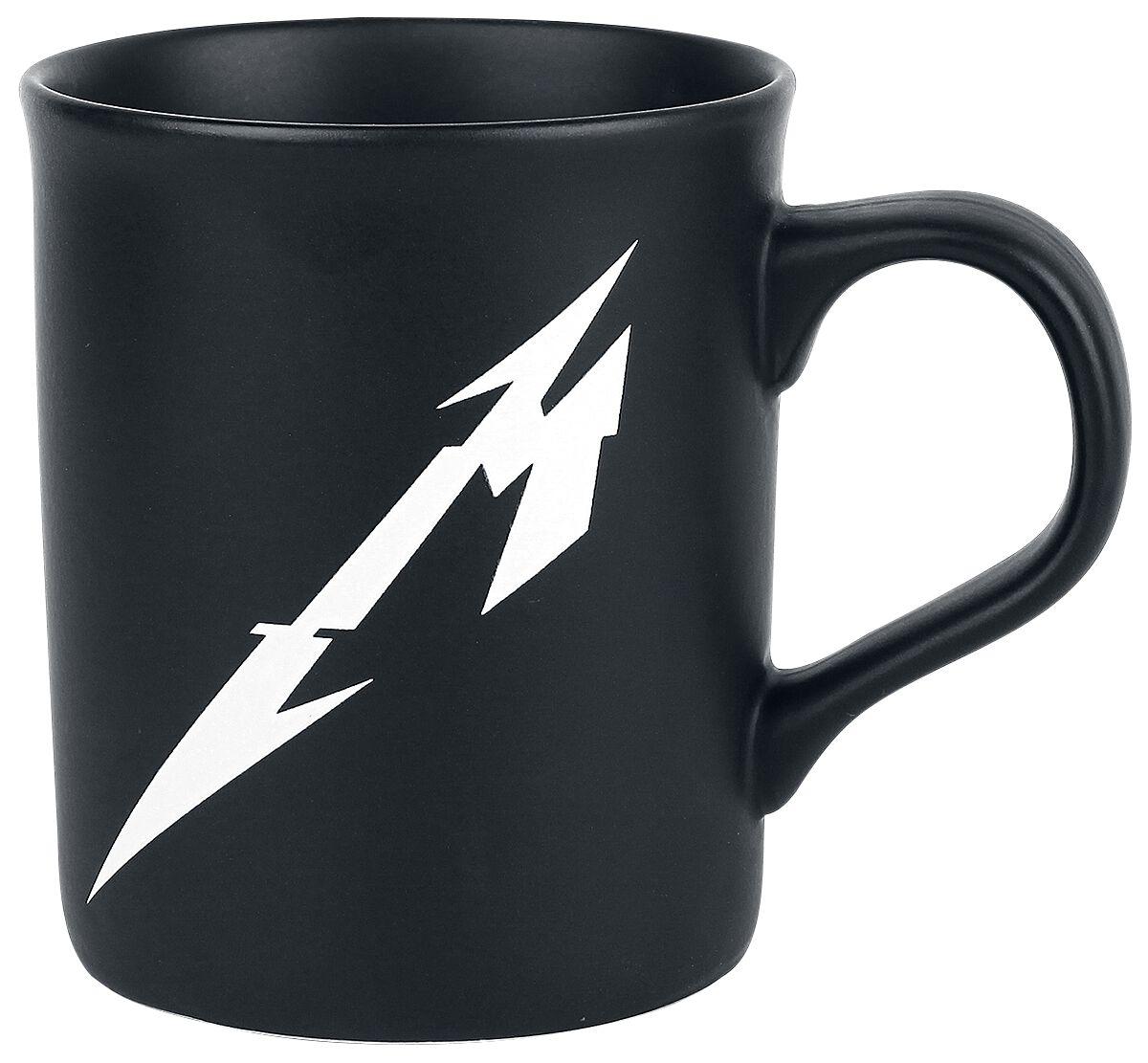 Metallica M-Logo - None - mattschwarz