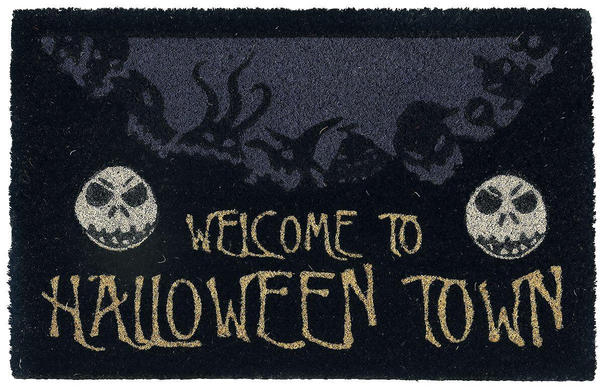 Image of   The Nightmare Before Christmas Halloween Town Dørmåtte multifarvet