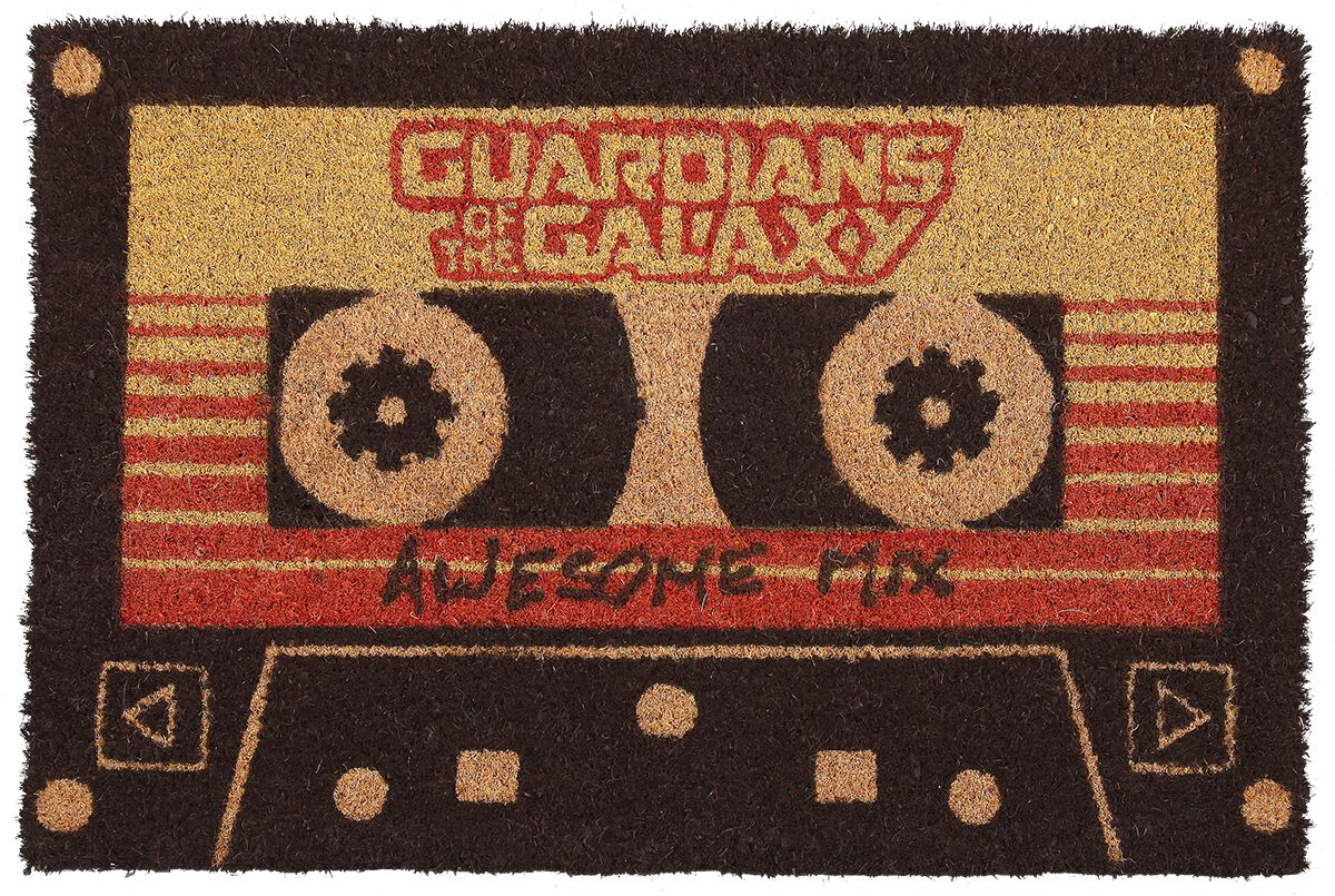 Image of   Guardians Of The Galaxy 2 - Awesome Mix Vol.2 Dørmåtte multifarvet