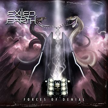 Exiled On Earth Forces of denial CD Standard