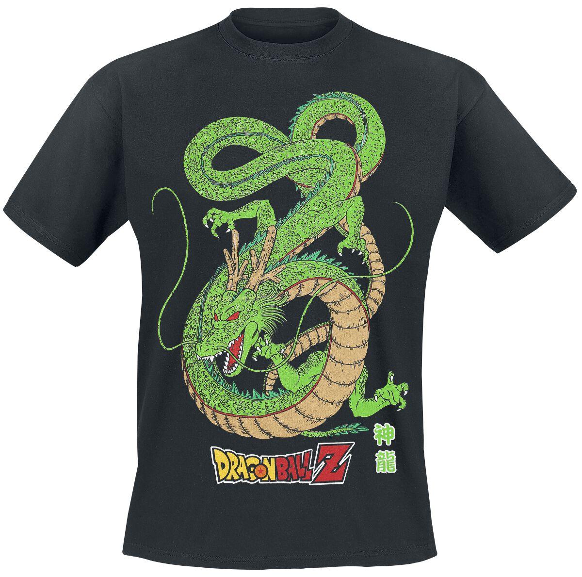 Merch dla Fanów - Koszulki - T-Shirt Dragon Ball Z - Shenron T-Shirt czarny - 352523