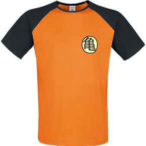 Dragon Ball Z - Symbole Kame T-shirt orange/noir