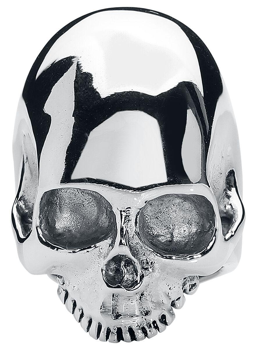 Image of   Wildcat Big Skull Ring sølvfarvet