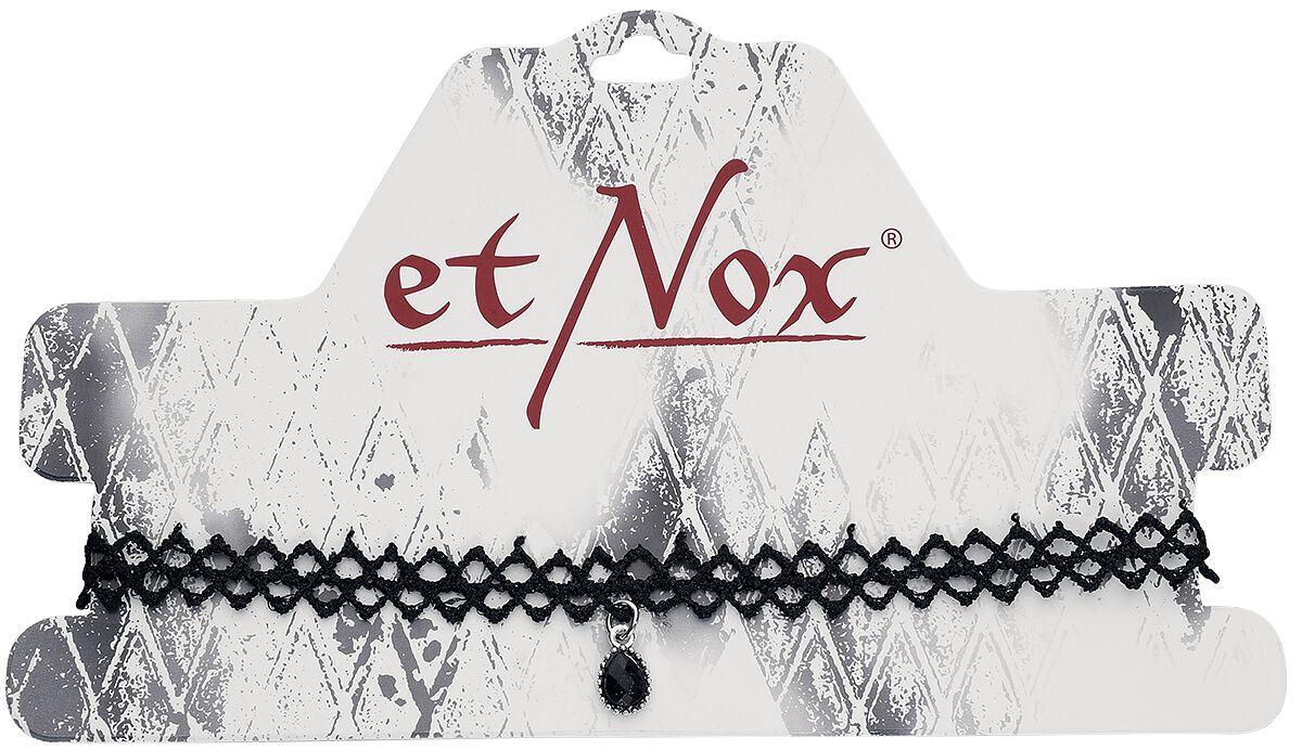 Basics - Naszyjniki - Naszyjnik etNox Stone Lace Naszyjnik czarny - 352549