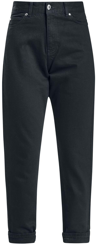 Marki - Spodnie długie - Jeansy damskie Dr. Denim Nora - Mom-Jeans Jeansy damskie czarny - 352554