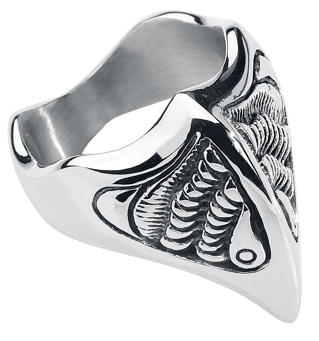 Basics - Pierścienie - Pierścień etNox Hard and Heavy Eagle Head Pierścień srebrny - 352587