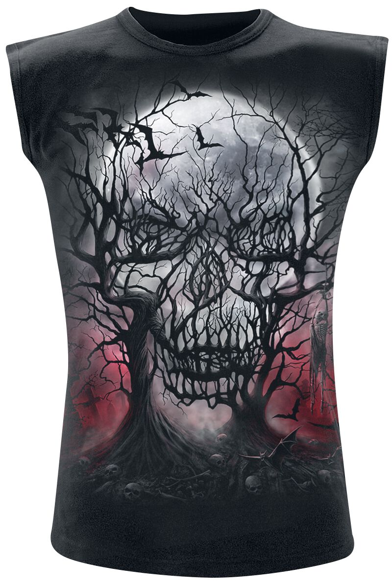 Image of   Spiral Dark Roots Tanktop sort