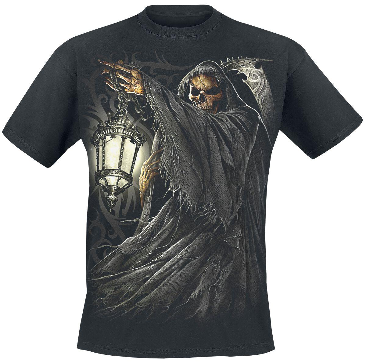 Image of   Spiral Death Lantern T-Shirt sort