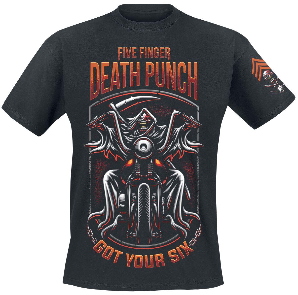 Image of   Five Finger Death Punch Grim Reaper T-Shirt sort