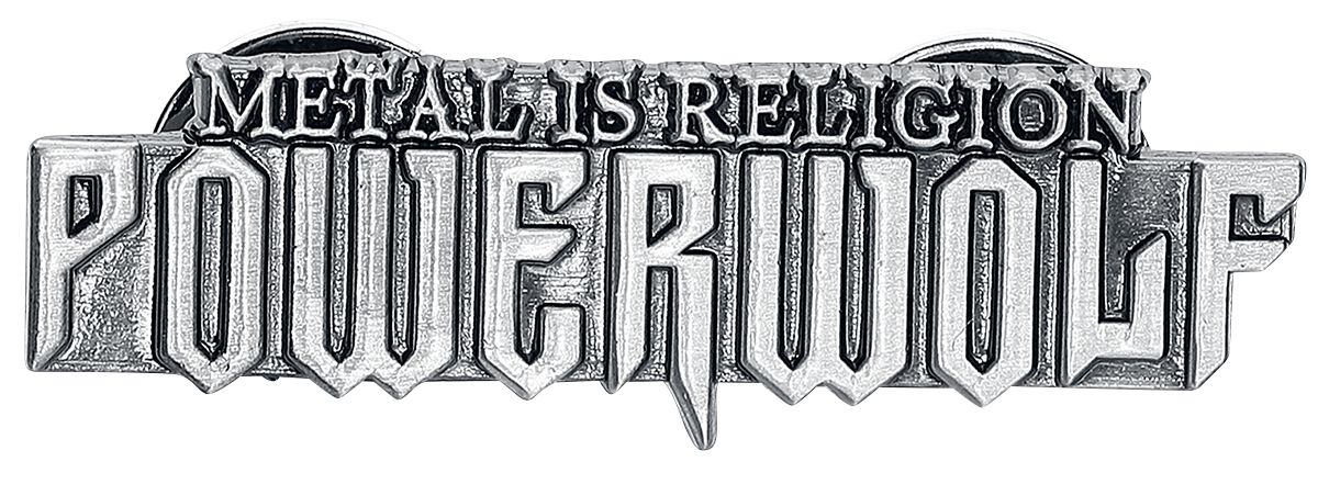 Image of   Powerwolf Metal Is Religion Nål multifarvet