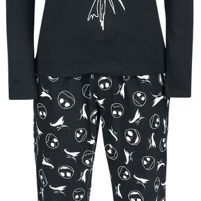 L'Étrange Noël De Monsieur Jack Jack & Zero Pyjama noir
