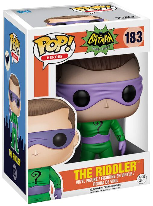Image of   Batman The Riddler (Chase mulig) Vinyl Figure 183 Samlefigur Standard
