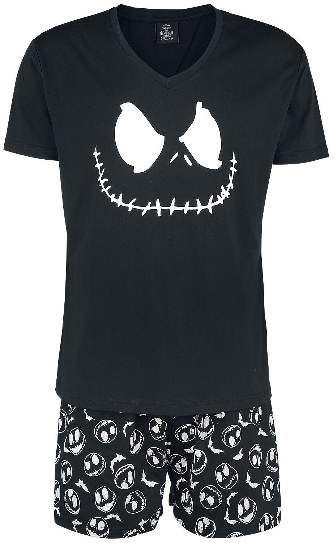 Image of   The Nightmare Before Christmas Jack Face & Skull Pyjamas sort