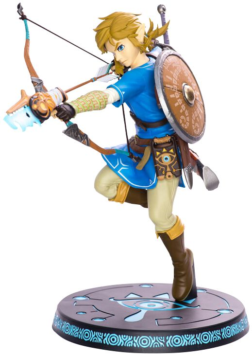 Image of   The Legend Of Zelda Breath Of The Wild - Link Samlefigur multifarvet