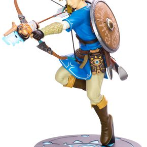 The Legend Of Zelda Breath Of The Wild - Link Figurine de collection multicolore