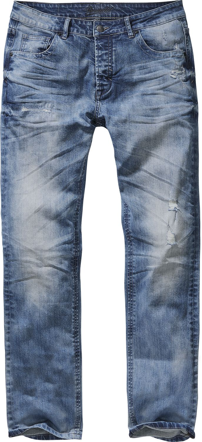 Image of   Brandit Destroyed Jeans Jeans blå