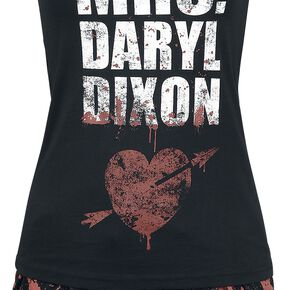 The Walking Dead Mrs. Daryl Dixon Pyjama noir