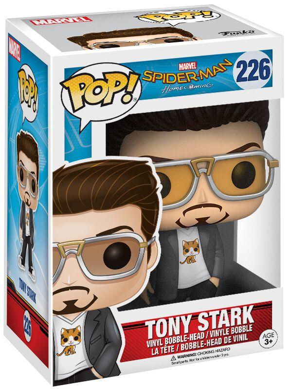Image of   Spiderman Homecoming - Tony Stark Vinyl Figure 226 Samlefigur Standard