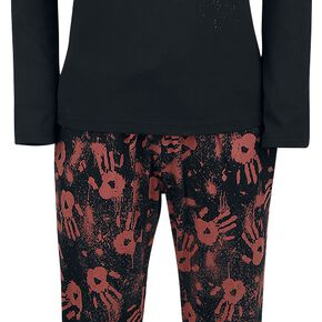 The Walking Dead Logo Classic Pyjama noir