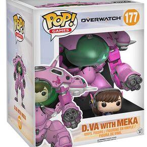 Figurine Pop! Overwatch D.Va avec Meka 15 cm