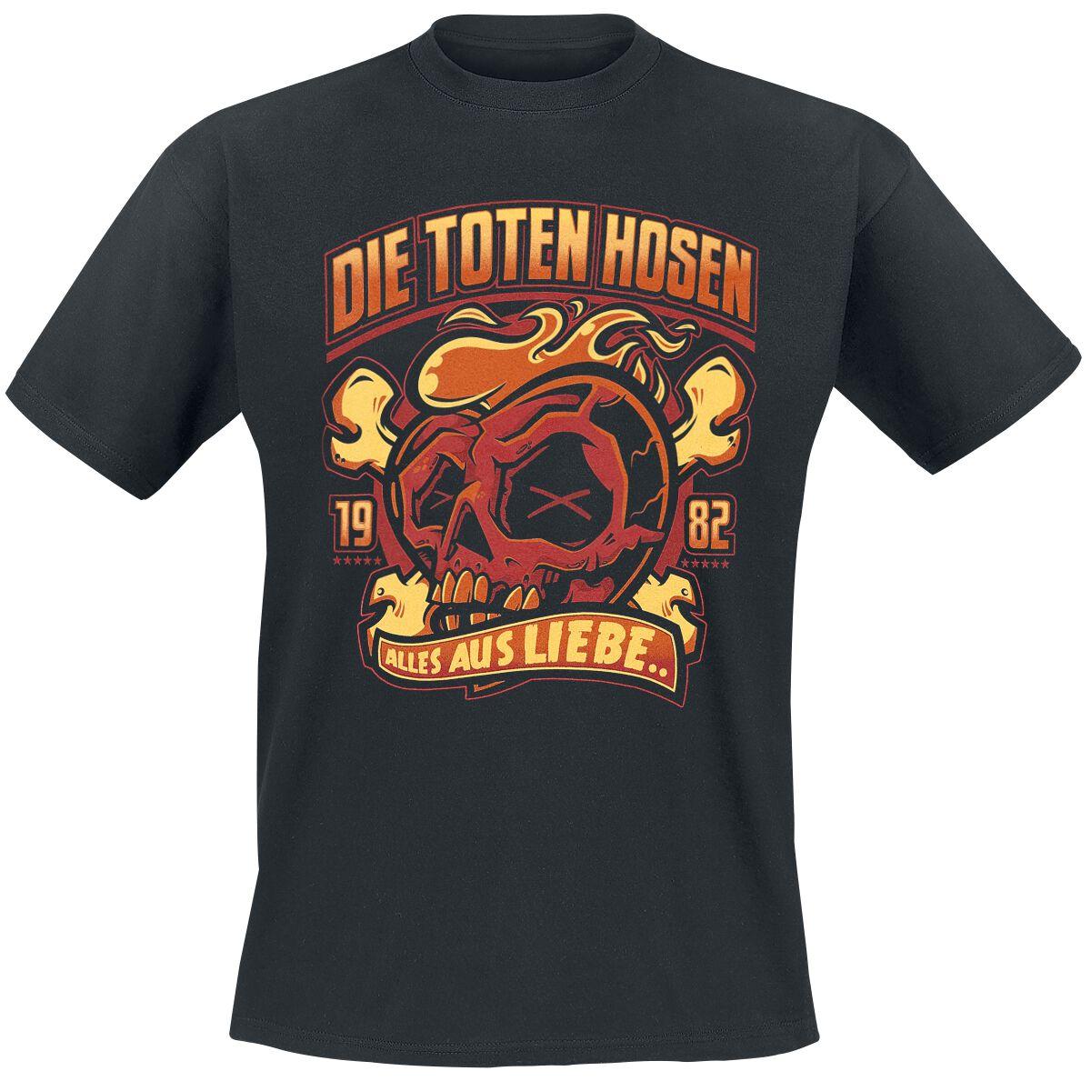 Die Toten Hosen Alles aus Liebe T-Shirt schwarz