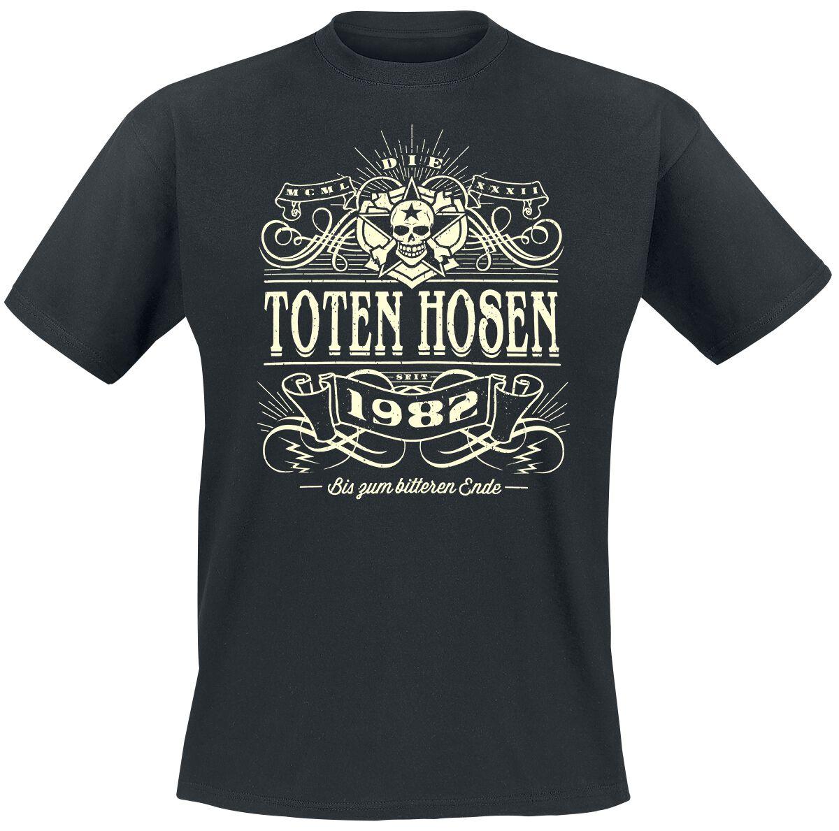 Die Toten Hosen Alte Schule T-Shirt schwarz