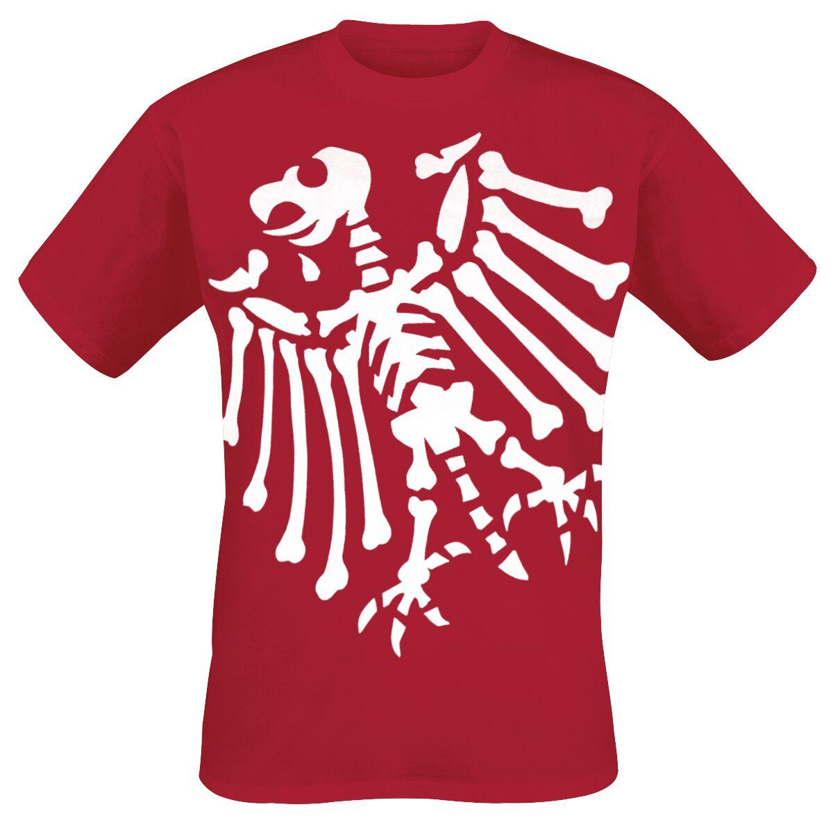 Die Toten Hosen Adler T-Shirt rot