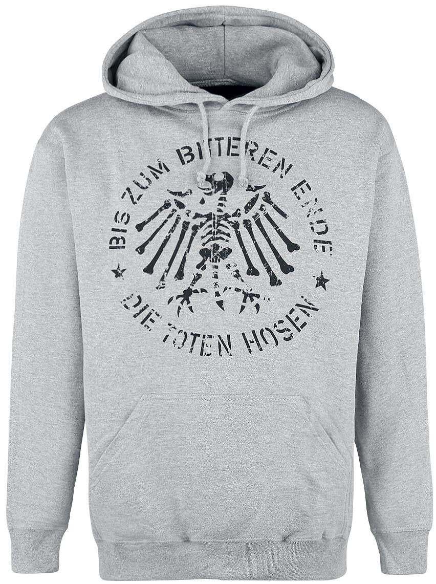 Zespoły - Bluzy z kapturem - Bluza z kapturem Die Toten Hosen Bis zum bitteren Ende Bluza z kapturem odcienie szarego - 352972