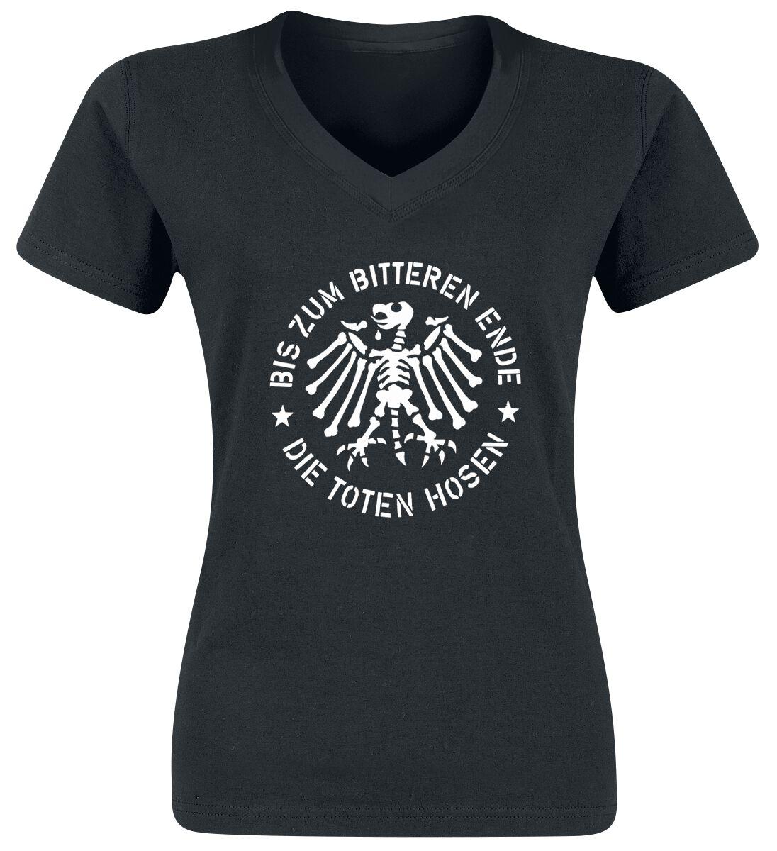 Zespoły - Koszulki - Koszulka damska Die Toten Hosen Bis zum bitteren Ende Koszulka damska czarny - 352976