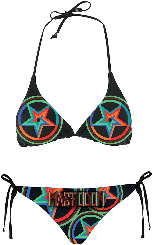 Zespoły - Odzież kąpielowa - Bikini Mastodon Stars Bikini czarny - 353055