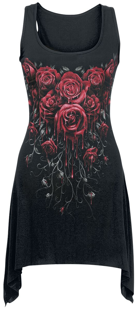 Image of   Spiral Blood Rose Girlie top sort
