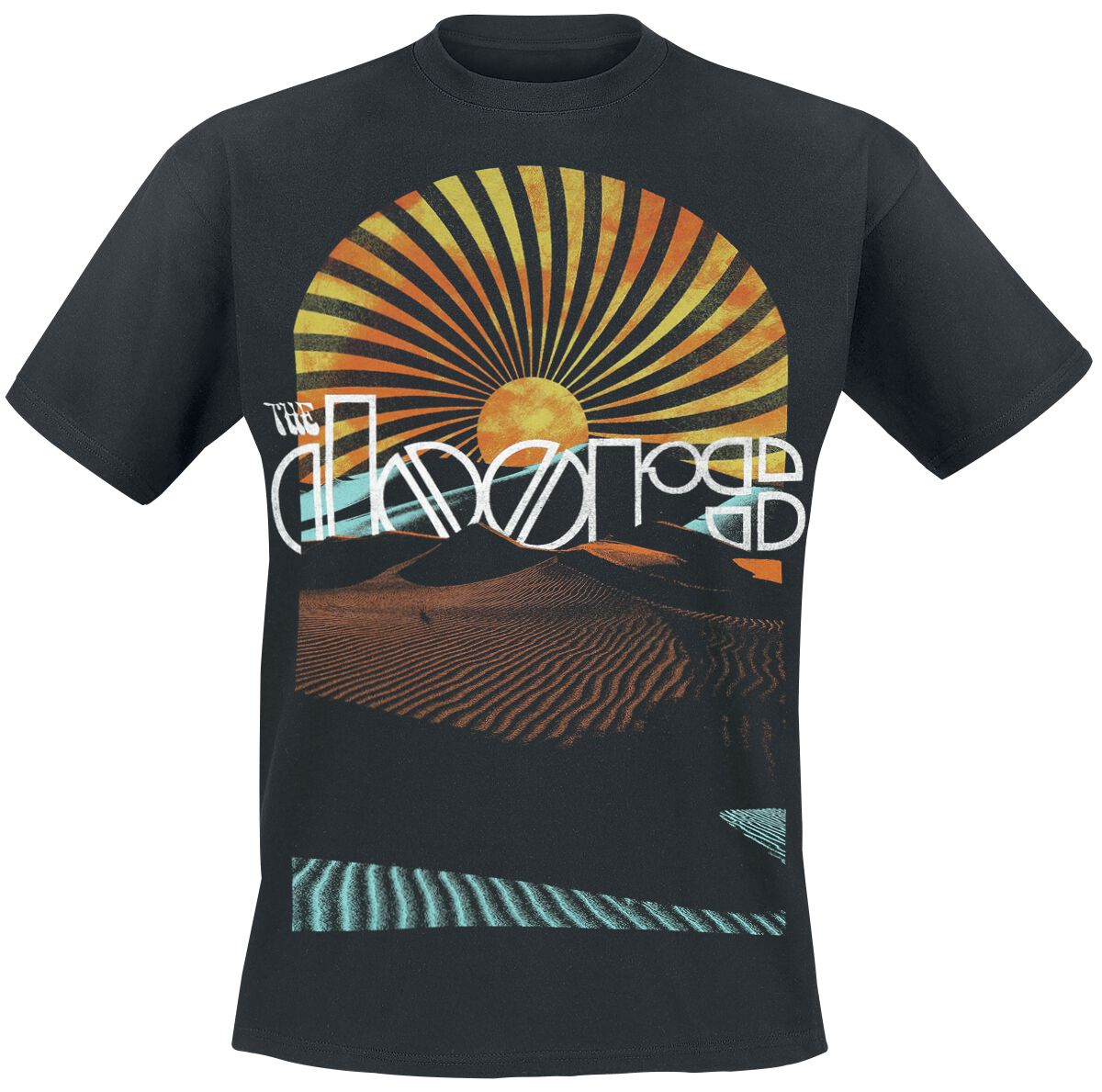The Doors Day Break T-Shirt schwarz