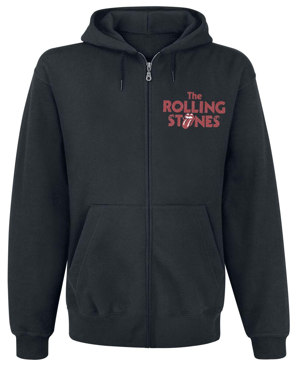 Image of   The Rolling Stones Tongue Hættejakke sort