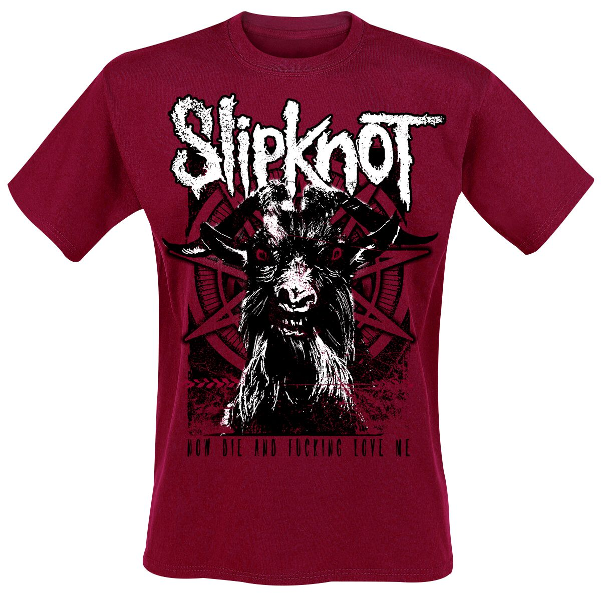 Image of   Slipknot Goat T-Shirt rød
