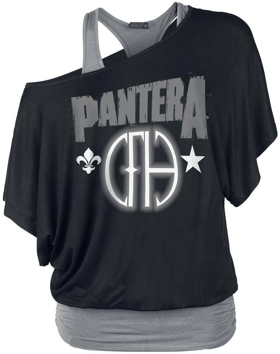 Zespoły - Koszulki - Koszulka damska Pantera Cowboys From Hell Koszulka damska czarny/szary - 353210