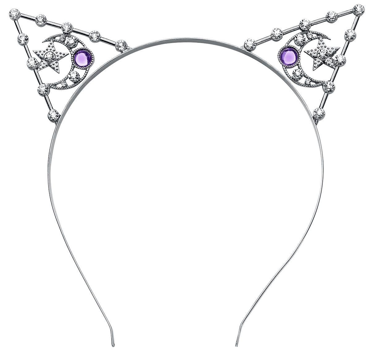 Basics - Ozdoby do włosów - Opaska na głowę Blackheart Fairy Bow Opaska na głowę standard - 353231