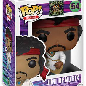 Figurine Jimmy Hendrix Pop! Rocks Funko Pop