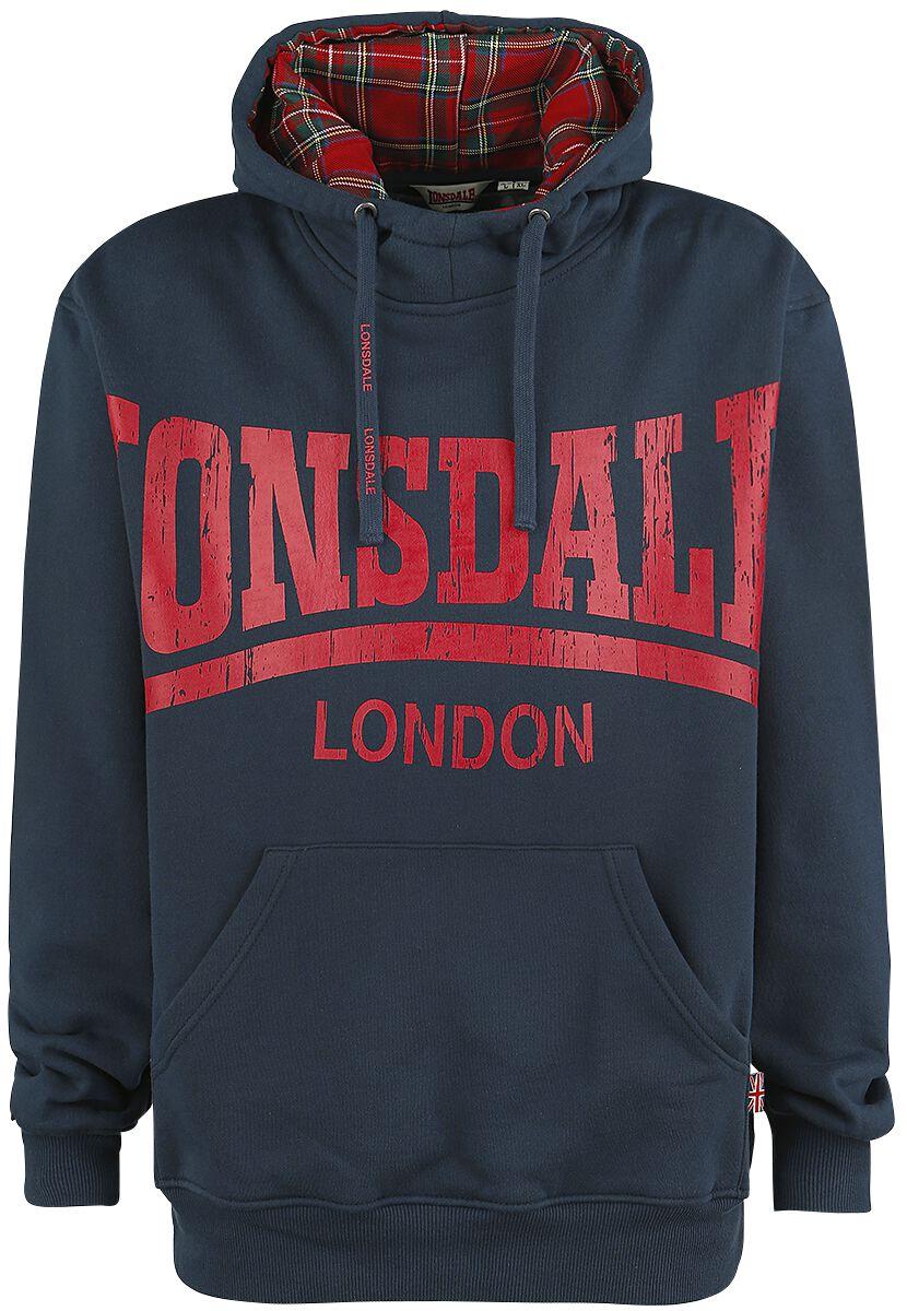 Marki - Bluzy z kapturem - Bluza z kapturem Lonsdale London Whitechapel Bluza z kapturem granatowy - 353356