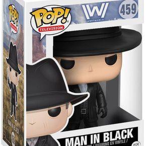 Figurine Westworld L'homme en noir Funko Pop!
