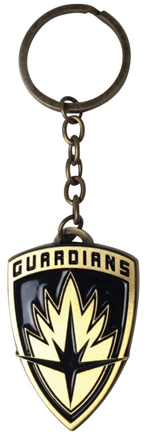 Image of   Guardians Of The Galaxy 2 - Shield Logo Nøglering Standard