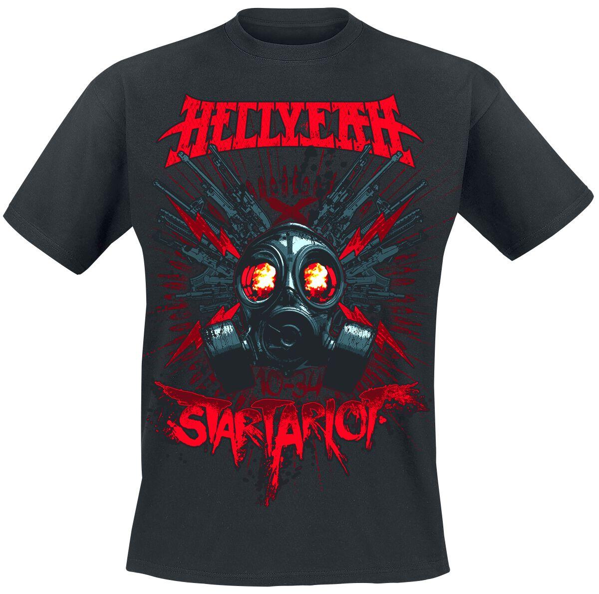 Zespoły - Koszulki - T-Shirt Hellyeah Startariot T-Shirt czarny - 353520