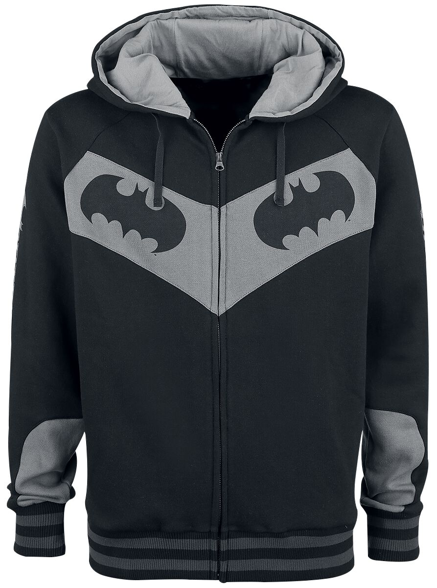 Image of   Batman Logo Hættejakke sort