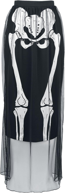 Marki - Spódnice - Spódnica Jawbreaker Skeleton Skirt Spódnica czarny - 353564