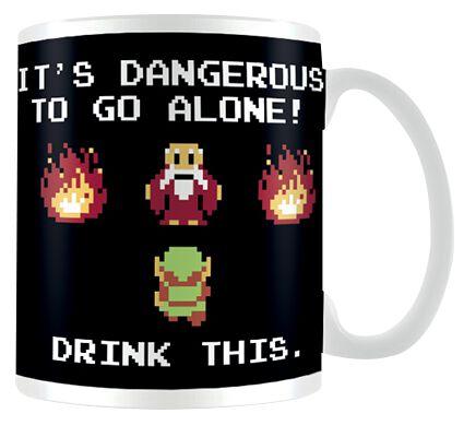 Image of   The Legend Of Zelda Drink This Krus hvid