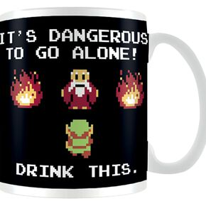The Legend Of Zelda Drink This Mug blanc